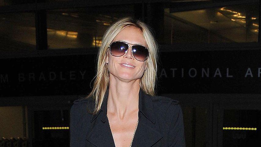 Hier überzeugt Heidi Klum mit schlichter Eleganz