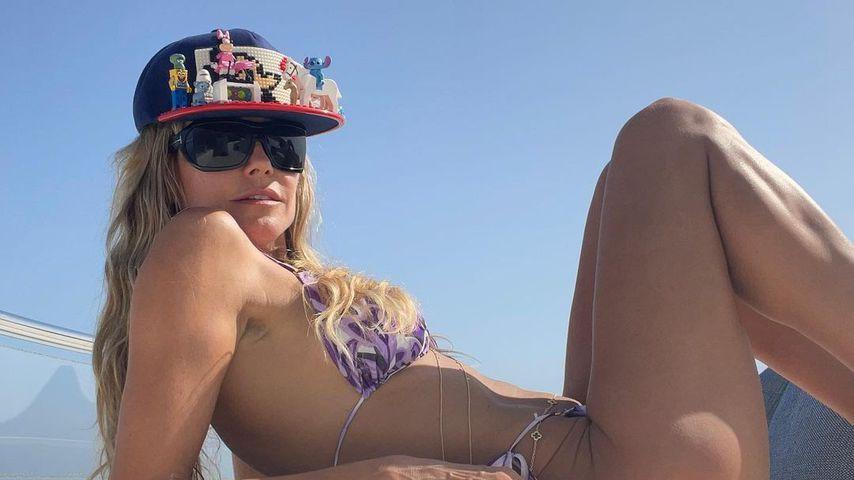 Tom hat geknipst: Heidi Klum rekelt sich im Bikini auf Jacht