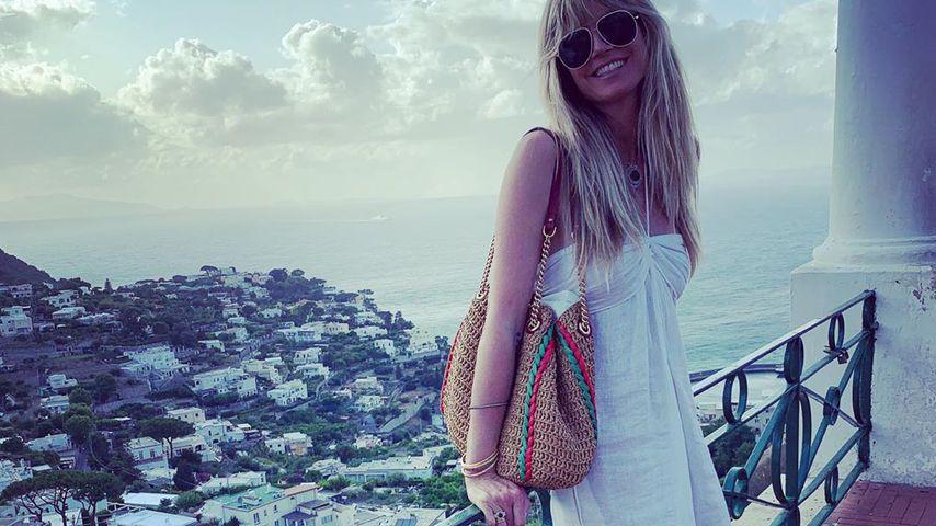 """""""Gründe zu lachen"""": Heidi in Capri schon im Hochzeitsfieber?"""