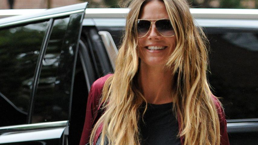 Anti Liebeskrise? Heidi Klum lächelt Gerüchte einfach weg