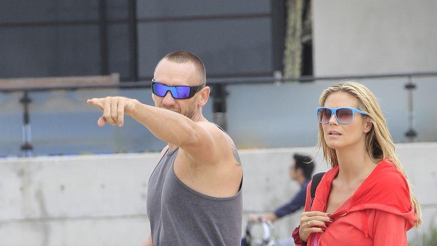 Heidi Klum und Martin Kirsten