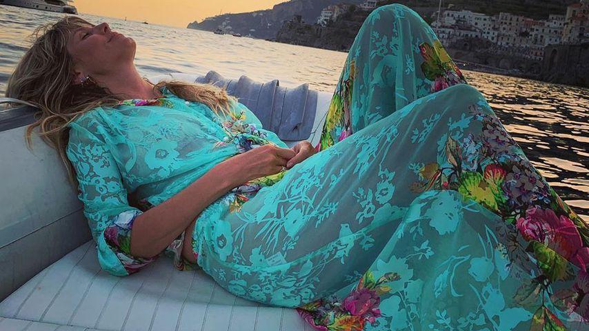 Heidi Klum in ihren Flitterwochen