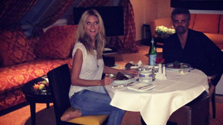 Vater-Tochter-Moment: Heidi Klum ist wieder ganz sie selbst