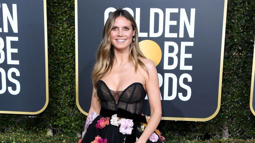 Heidi Klum bei den Golden Globes 2019