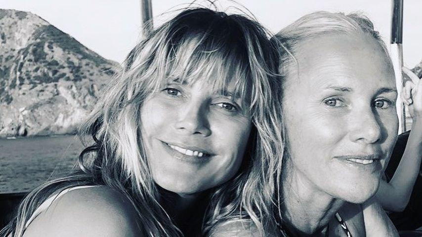 Heidi Klum und Linda Hay im Juni 2021