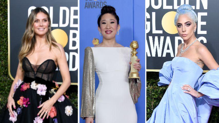 Blaue Haare & Mega-Roben: Die schönsten Golden-Globe-Looks!