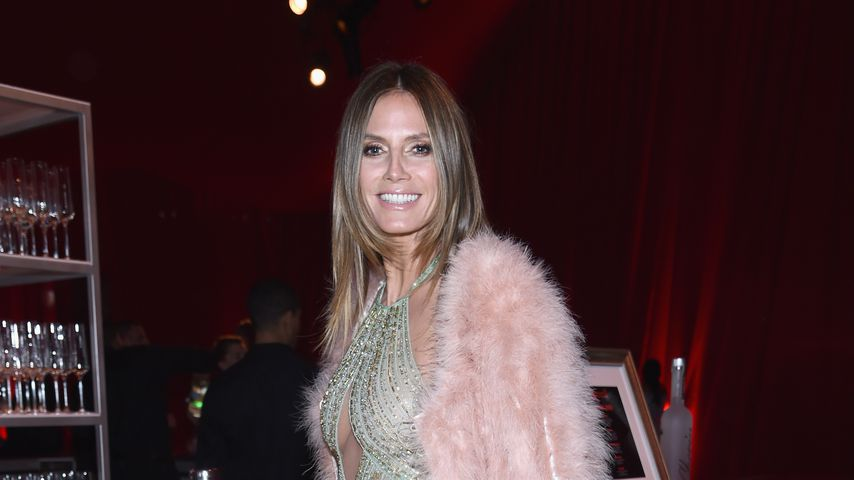 Heidi Klum bei der Oscar-Party der Elton John AIDS Foundation