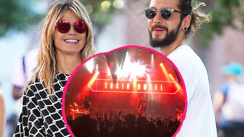Tokio Hotel-Konzert: Heidi Klum wird zum totalen Fan-Girl!