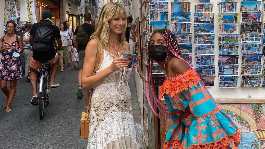 Sensation: Heidi Klum zeigt erstmals ihre Tochter Lou (11)!