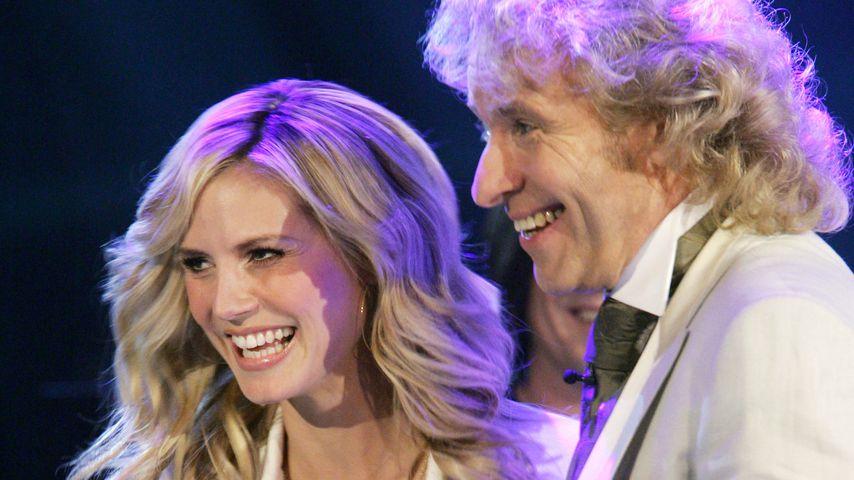 Heidi Klum und Thomas Gottschalk 2005