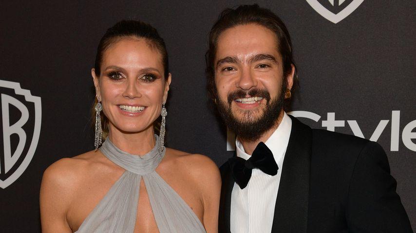 Heidi Klum und Tom Kaulitz bei der Aftershowparty der Golden Globes 2019