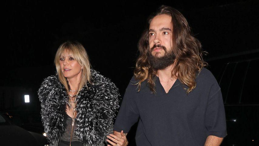 Heidi Klum und Tom Kaulitz auf Paris Hiltons Geburtstagsparty