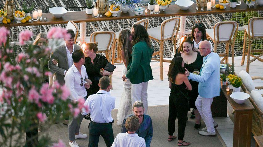 Heidi Klum und Tom Kaulitz bei ihrer Dinner-Party auf Capri