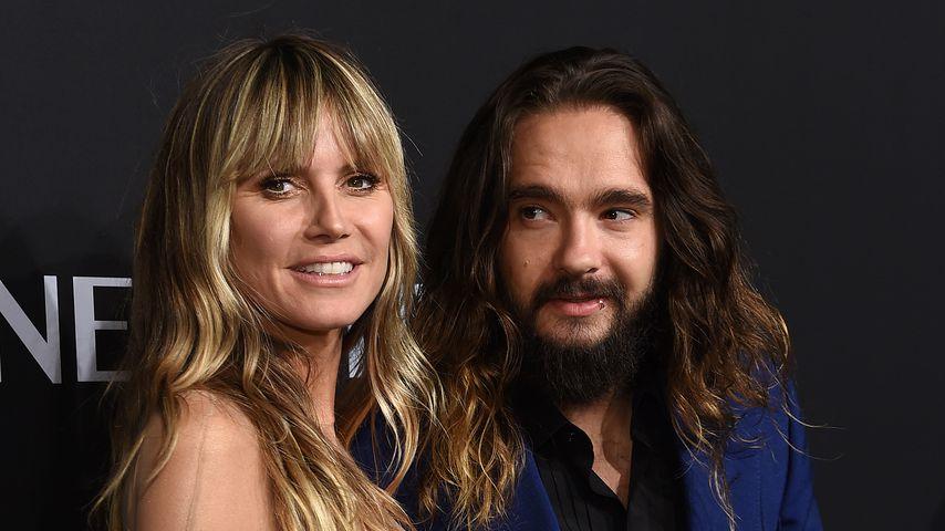 Heidi Klum und Tom Kaulitz im Oktober 2019 in New York