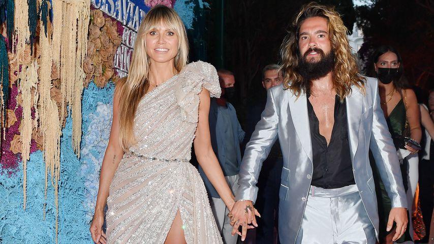 Heidi Klum und Tom Kaulitz bei einem Event auf Capri, Juli 2021