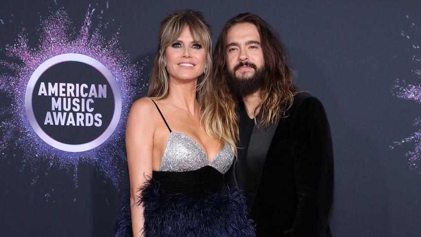 Heidi Klum und Tom Kaulitz bei den AMAs 2019