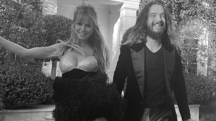 Heidi Klum und Tom Kaulitz auf dem Weg zu den AMAs 2019