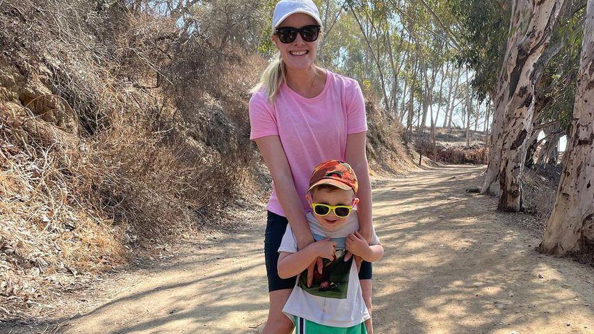 Heidi Montag mit ihrem Sohn Gunner