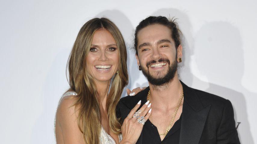 Heidi Klum und Tom Kaulitz bei der amfAR-Gala in Cannes