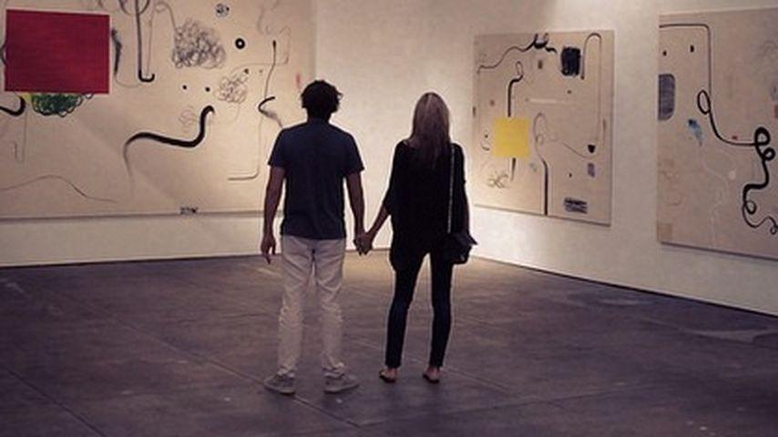 Hand in Hand: Heidi Klum & Vito beim Galeriebesuch