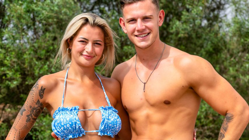 "Heike und Dominik, ""Love Island""-Couple"