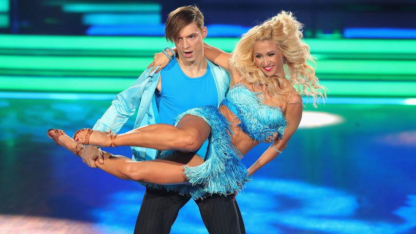 """Heiko Lochmann und Kathrin Menzinger, """"Let's Dance""""-Tanzpaar"""