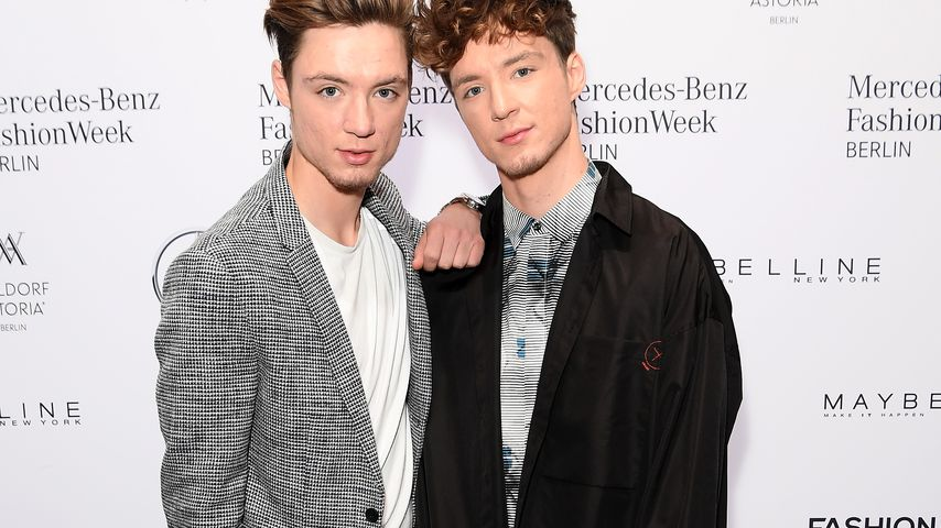 Heiko und Roman Lochmann auf der Berlin Fashion Week 2018