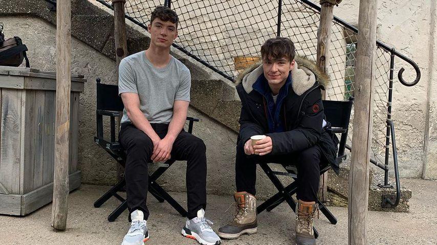 Heiko und Roman Lochmann im Juni 2020