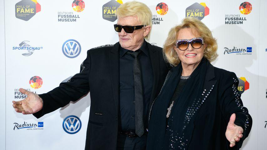 Sänger Heino mit Frau Hannelore
