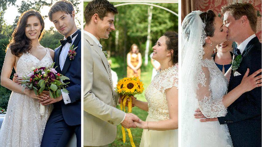 """Diese Hochzeiten gab es dieses Jahr bei """"Sturm der Liebe"""""""