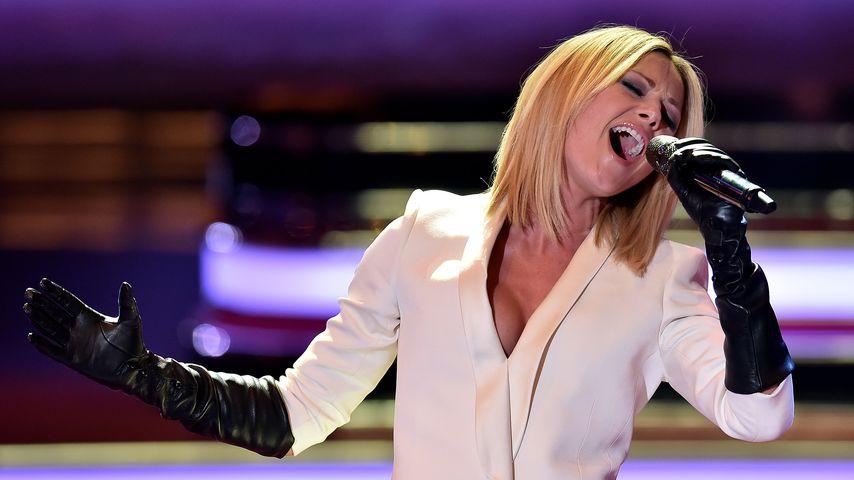 Helene Fischer bei einem Auftritt im Jahr 2015