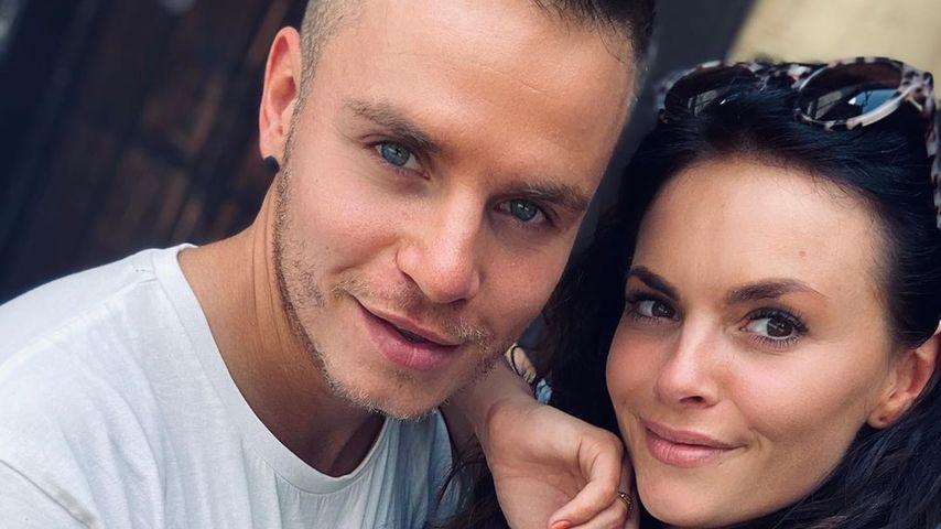 Henning Merten und Denise Kappès, TV-Paar