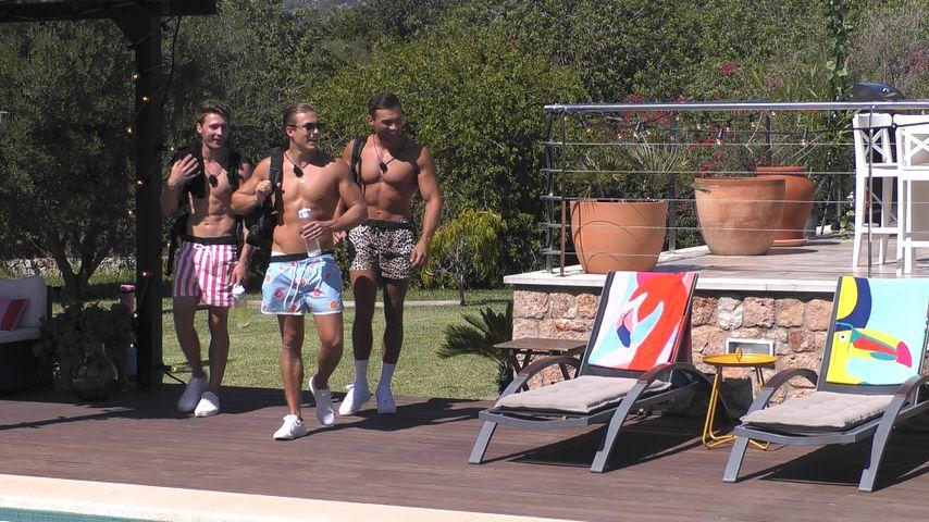 """Henrik, Josua und Marc beim """"Love Island""""-Glamping"""