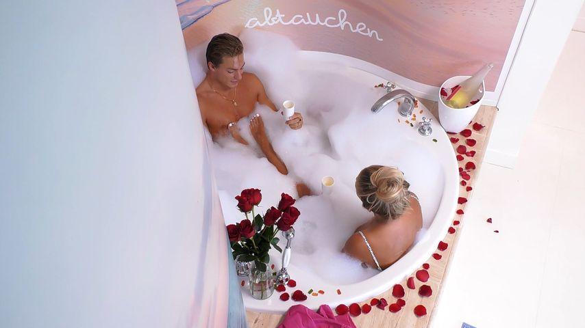 """Henrik und Sandra in der """"Love Island""""-Villa"""