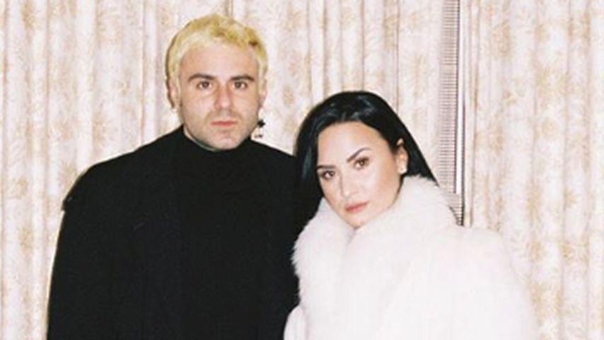 Henry Levy und Demi Lovato im Januar 2019