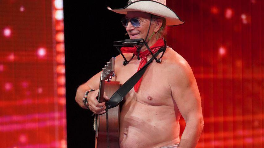 Beim Supertalent: Dieser Partycowboy performt fast nackig!