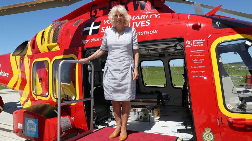 Herzogin Camilla, im Juli 2020 in Cornwall