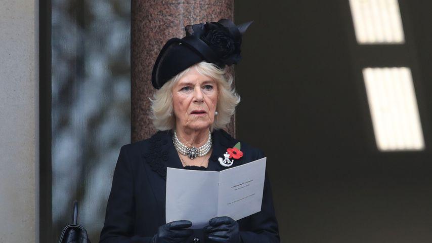 Herzogin Camilla zum Service of Remembrance 2020