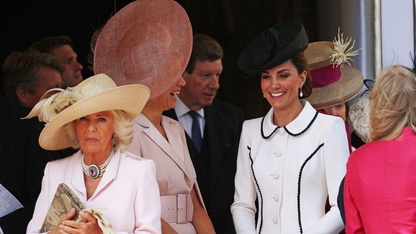 Herzogin Camilla, Königin Maxima und Herzogin Kate