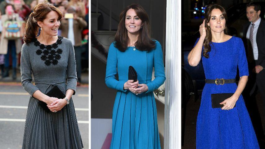 Herzogin Kate wird 34: Die königlichen Styles der Mode-Queen