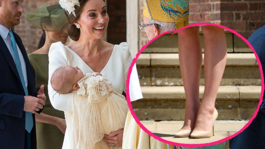 Bei Taufe: Kate trägt selben Pumps wie bei Harrys Hochzeit