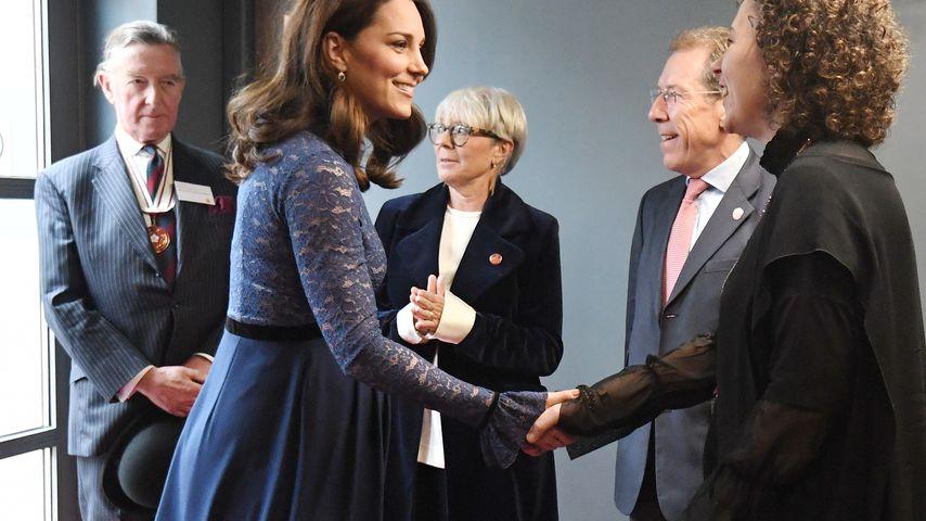 Baby-Glow im 8. Monat: Herzogin Kate bildschöne Bald-Mami!