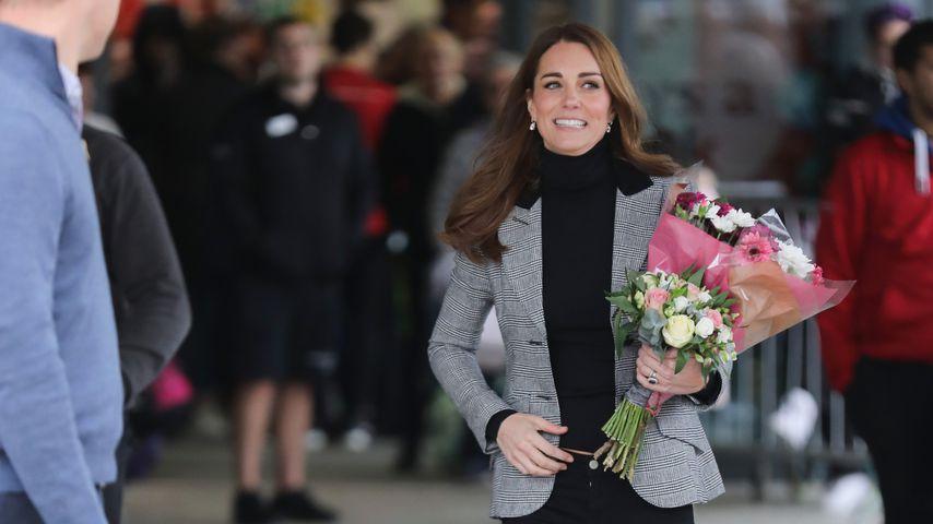 Herzogin Kate im Oktober 2018