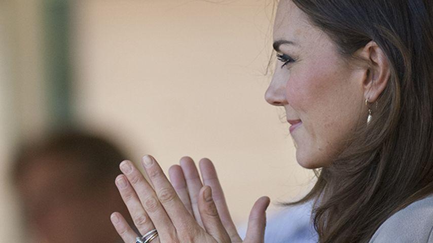 Bäuchlein! Verheimlicht Herzogin Kate doch etwas?
