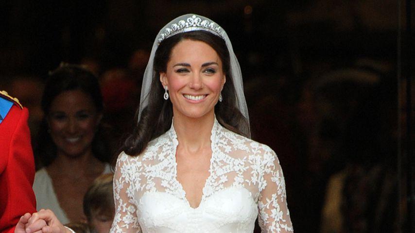 Herzogin Kate bei ihrer Hochzeit im April 2011