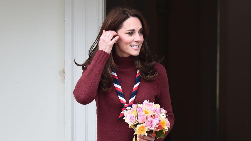 Herzogin Kate im März 2010 in Epping, England