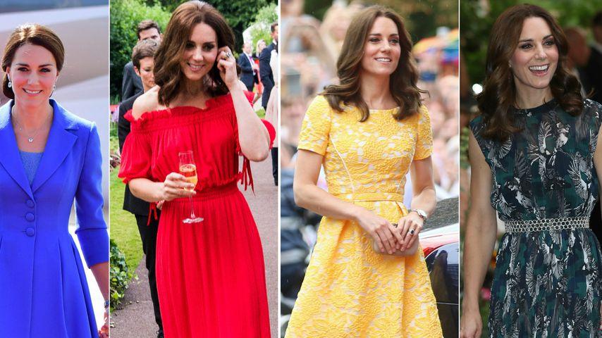 Kates royaler Stylemarathon: Welches Kleid ist das schönste?