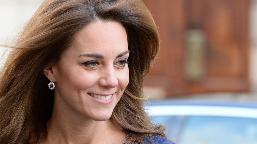 Modischer Tribut: Kate trug Prinzessin Dianas Ohrringe!