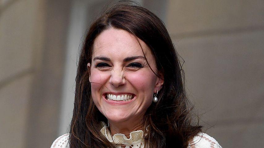 Aufgeregt: Herzogin Kate freut sich auf Meghan & Harrys Baby