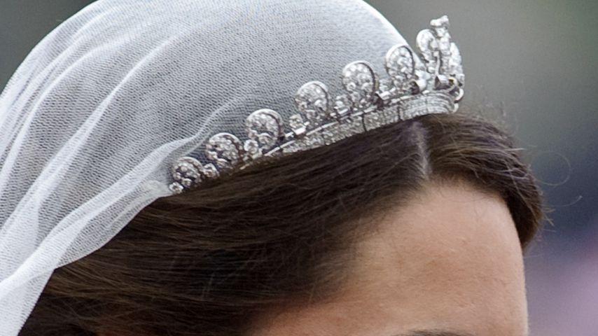 Herzogin Kate mit Diamanten-Tiara bei ihrer Hochzeit 2011